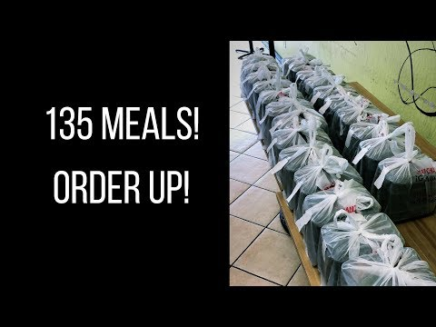 Behind the scenes of a meal prep business   135 meal order!