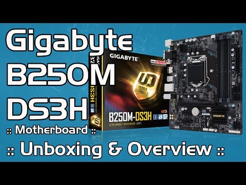 Budget Value Kabylake Motherboard :: Gigabyte B250M-DS3H Micro ATX :: Unboxing & Overview