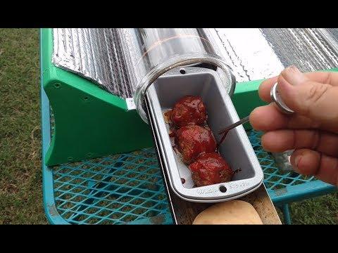 Rand Solar sun oven (cooking meatballs, muffins, rolls)