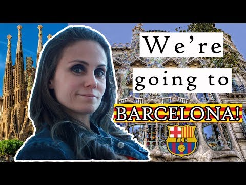 BARCELONA TRIP #1 | Daily Travel Vlog - The Beginning of our Vacation in Spain, Europe
