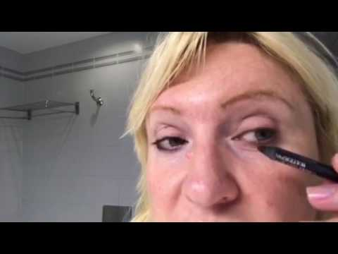 How to darken your eyelashes roots instantly without mascara!