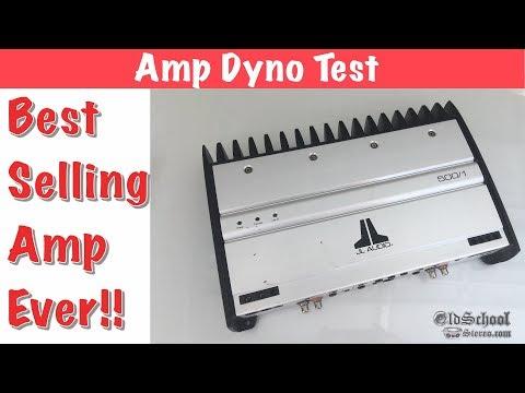 Best Selling Car Audio Amp Ever? JL Audio 500/1 Amp Dyno Test