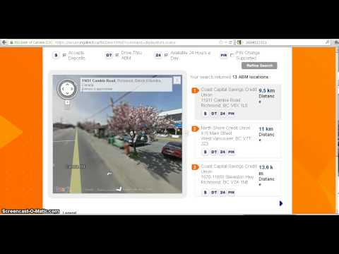 Video to find nearest ATM for ING Direct