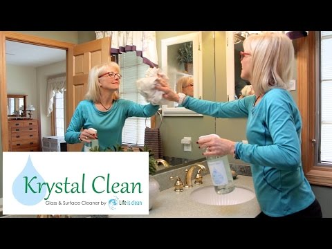 Krystal Clean Glass and Surface Cleaner | Life is Clean