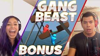 """WORST IDEA EVER"" Gang Beast - Bonus Rematch - Husband vs Wife"