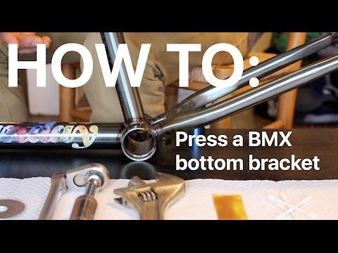 HOW TO: make a bottom bracket bearing press for $5 BMX install
