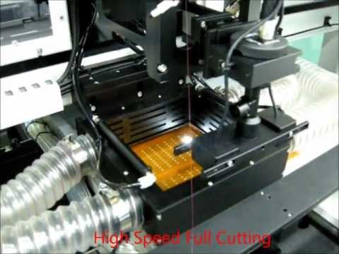pcb / fpcb & coverlay film laser cutting