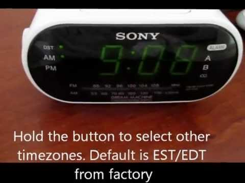 Sony Dream Machine Alarm Clock
