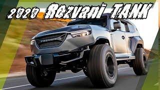 All New 2020 Rezvani TANK - Street-legal Xtreme Utility Vehicle