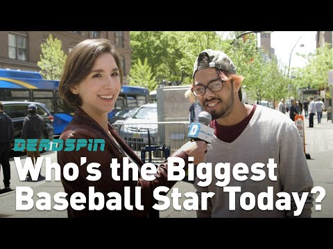 Who's the Biggest Baseball Star Today? | Woman on the Street