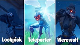 How to make UNIQUE CLASS ABILITIES (Lockpicking, Werewolf, Teleportation) in Fortnite Creative!