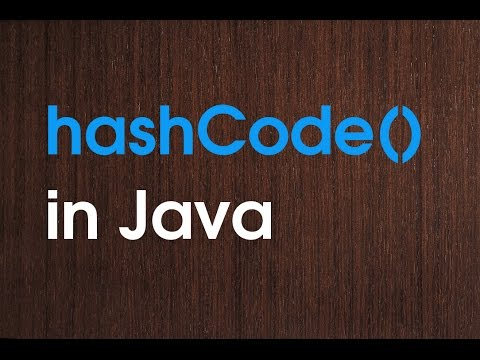 hashCode() method in java