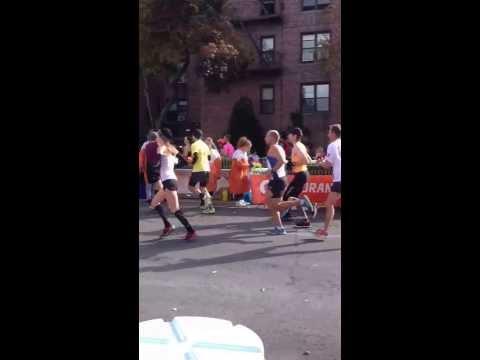 NYC Marathon 2013 - Bay Ridge, Brooklyn