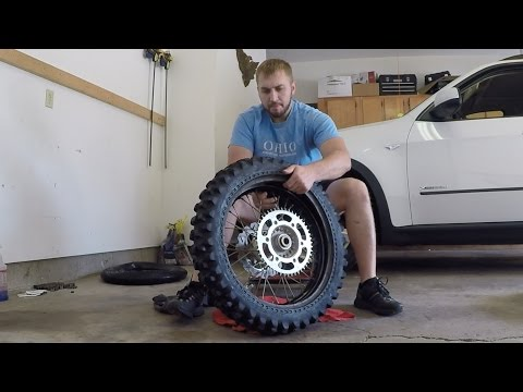 Dirt Bike Tire and Tube Change With Trail Tools