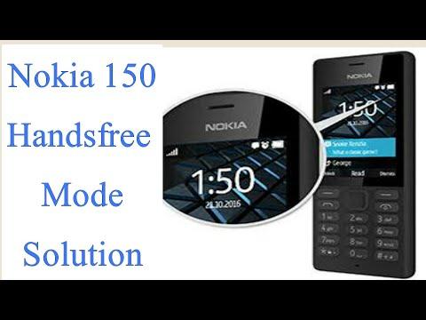 Nokia handsfree solution