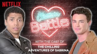 Chilling Adventures of Sabrina Cast Show You How To Flirt | Charm Battle | Netflix