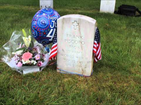 Frank and Ethel Piscopo Long Island National Cemetery Movie