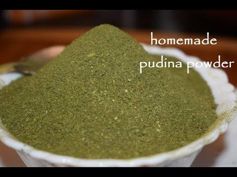 Home made Pudina Powder / Benifits of pudina powder/ Pudina Storage tips for long time