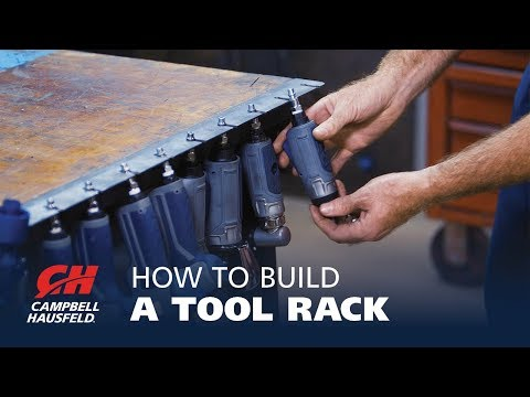 How to Build a Tool Rack