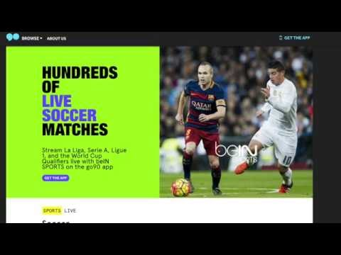 go90: How to stream soccer for free
