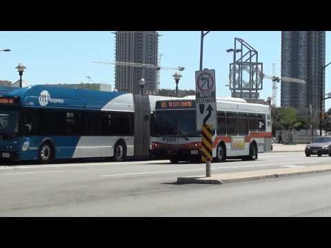 MiWay and GO Transit - Square One City Center Bus Terminal | Compilation Video #1