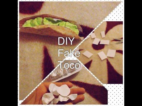 DiY fake toco