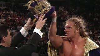 Hunter Hearst Helmsley wins the King of the Ring tournament: WWE King of the Ring 1997
