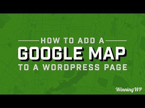 How To Add A Google Map To A WordPress Page (With Ease!)