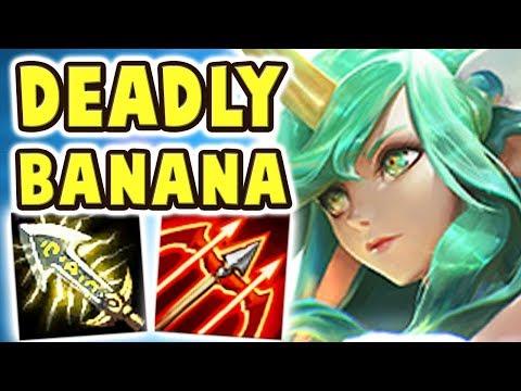 THE DEADLIEST BANANA SORAKA JUNGLE | 100% CRIT STAR GUARDIAN SORAKA | WHAT IS THIS DAMAGE Nightblue3