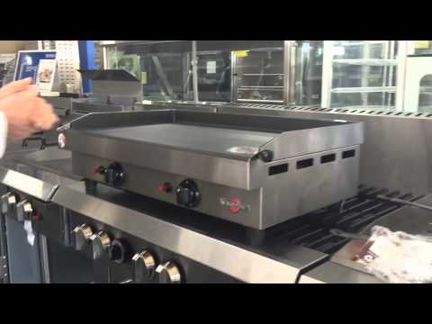 Compact Commercial Gas Grill Griddle