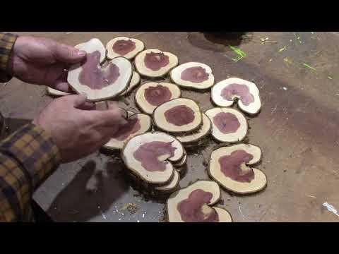 How to Make Cedar Coasters