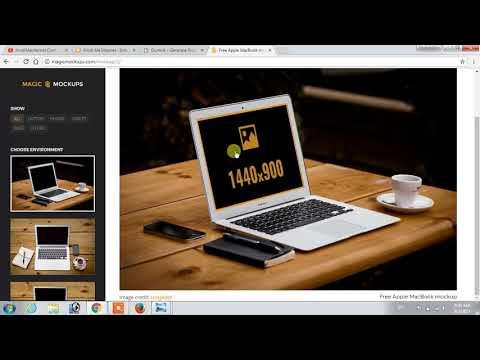 How To Create Website Mockup Image | Hindi Video