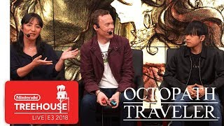 Octopath Traveler Gameplay Pt. 2 - Nintendo Treehouse: Live | E3 2018