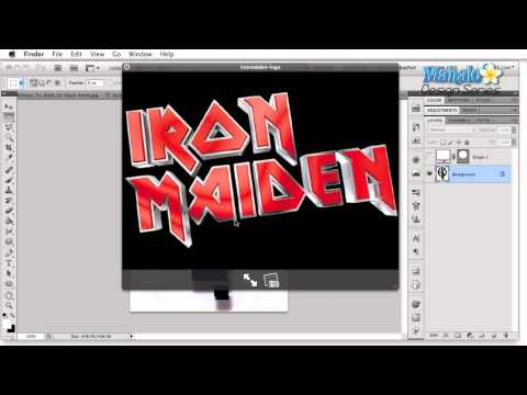 Photoshop Video Tutorial - Band Logo Research