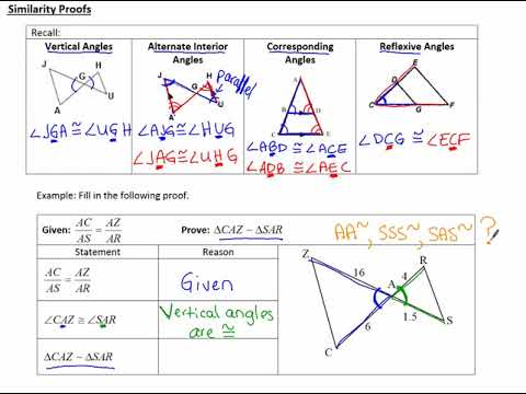 8.2c notes Similarity Proofs