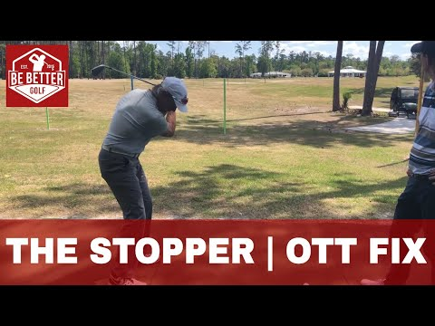 The Stopper Drill, with Dan Winget at the Mike Bender Golf Academy, Be Better golf