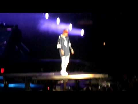Justin Bieber Dallas Texas get used to it April 10th 2016