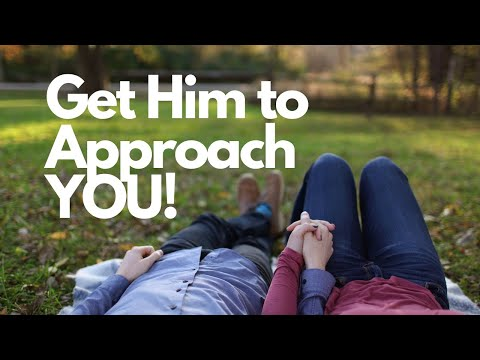 10 Ways To Get a Guy To Approach You