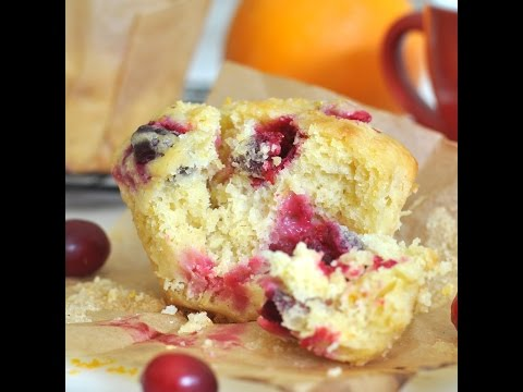 Bakery -Style Homemade Cranberry-Orange Muffins by Cooking with Manuela