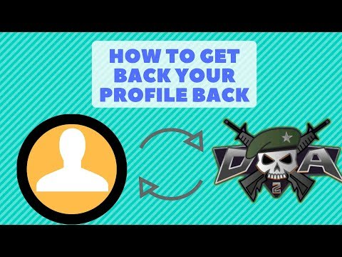 How to recover your old mini militia profile back 😲😲😎😎
