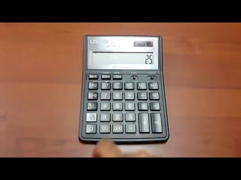 How to simply add two numbers using a calculator