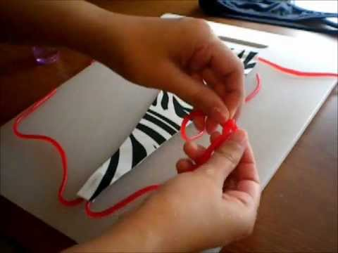 How to make edible panties