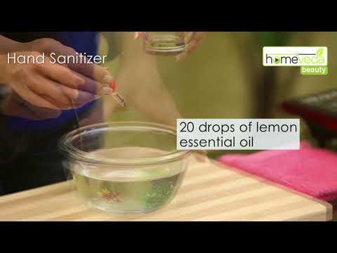 Make Natural Hand Sanitizer At Home  Home Remedies - Homeveda
