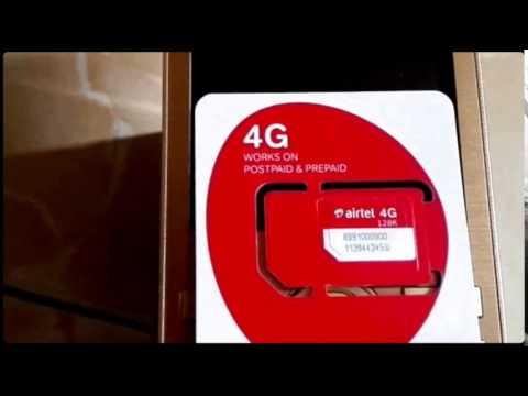 Airtel 4G multiple Nano micro sim