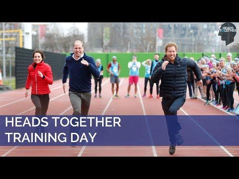 Heads Together London Marathon Training Day