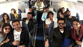 Party in the Air | Shilpa Shetty's Luxurious Trip With Celebs