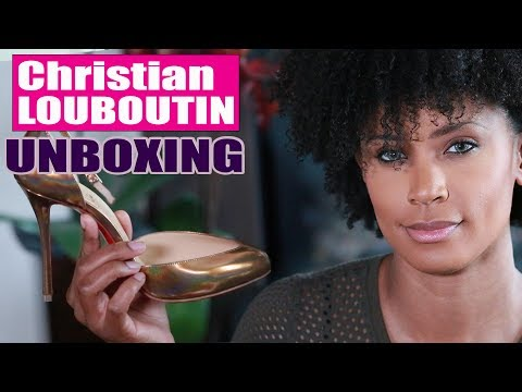 Super Cleavage | Louboutin Bronze Dollyla | UNBOXING + Try On & Review