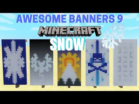 ✔ 5 AWESOME MINECRAFT BANNER DESIGNS WITH TUTORIAL! #9