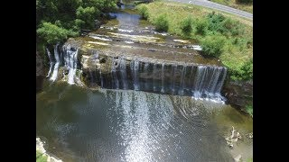 EPIC Drone Footage Of Rere Rockslide , Waterfall & Landscapes Of Gisborne,New Zealand