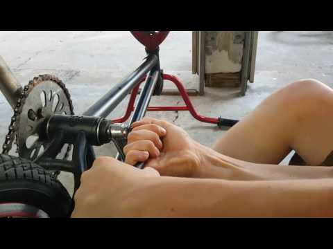 Tutorial: How to change out 3 piece crank on a bmx bike